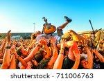 madrid   jun 23  every time i...   Shutterstock . vector #711006763