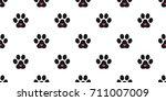 Dog Paw Cat Paw Heart Icon...