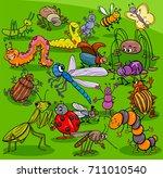 cartoon vector illustration of... | Shutterstock .eps vector #711010540