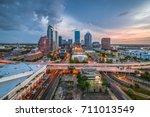 Tampa  Florida  Usa Aerial...