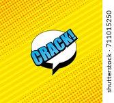 comic book yellow background...   Shutterstock .eps vector #711015250