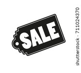 vector discount label sale | Shutterstock .eps vector #711024370