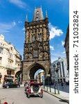 prague  czech republic   june... | Shutterstock . vector #711032824