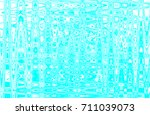 abstract digital cyan and white ... | Shutterstock . vector #711039073