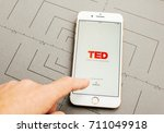 paris  france   sep 26  2016 ... | Shutterstock . vector #711049918