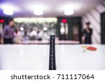 front a center line selective... | Shutterstock . vector #711117064