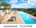 chanthaburi  thailand   august... | Shutterstock . vector #711117406
