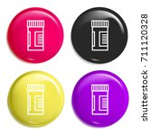drugs multi color glossy badge...