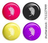 oat multi color glossy badge...