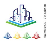 book city logo | Shutterstock .eps vector #711130648