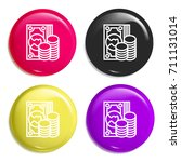 change multi color glossy badge ...