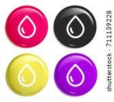 drop multi color glossy badge...