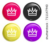 king crown multi color glossy...