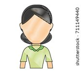 avatar woman icon   Shutterstock .eps vector #711149440