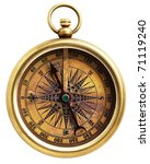 vintage compass isolated on... | Shutterstock . vector #71119240
