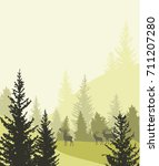 forest | Shutterstock .eps vector #711207280