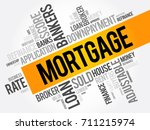 mortgage word cloud collage ...   Shutterstock .eps vector #711215974