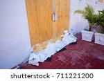 usa. florida. miami beach ... | Shutterstock . vector #711221200
