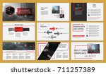 red elements of infographics...