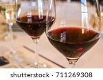red wine close up in napa valley | Shutterstock . vector #711269308