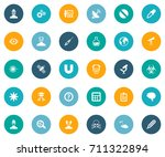 vector illustration set of... | Shutterstock .eps vector #711322894