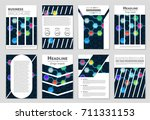 abstract vector layout...   Shutterstock .eps vector #711331153