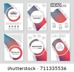 abstract vector layout...   Shutterstock .eps vector #711335536