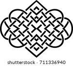 vintage vector vignette | Shutterstock .eps vector #711336940