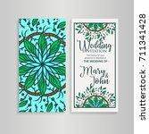 vintage template design layout... | Shutterstock .eps vector #711341428