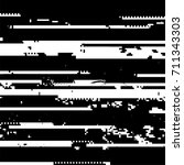 vector glitch background. data... | Shutterstock .eps vector #711343303