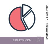 pie chart icon vector. finances ...