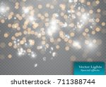 shining bokeh isolated on
