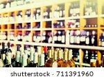 Closeup View On Supermarket...