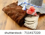 oktoberfest cloths like... | Shutterstock . vector #711417220