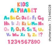 Cartoon Bubble Alphabet In Fla...