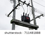Transformer Power Pole