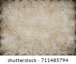 treasure map toned background... | Shutterstock . vector #711485794