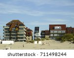 architecture at the belgian... | Shutterstock . vector #711498244