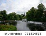 river suir  cahir  ireland | Shutterstock . vector #711514516