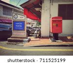malacca  malaysia  28 july 2017 ... | Shutterstock . vector #711525199