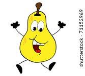 happy pear | Shutterstock .eps vector #71152969