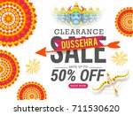 creative illustration sale... | Shutterstock .eps vector #711530620