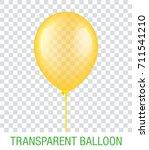 transparent yellow vector...   Shutterstock .eps vector #711541210