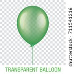 transparent green vector... | Shutterstock .eps vector #711541216