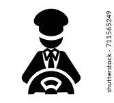 driver symbol icon   Shutterstock .eps vector #711565249