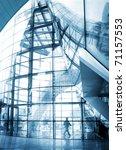 glass hall  modern architecture ... | Shutterstock . vector #71157553