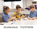 education  children  technology ... | Shutterstock . vector #711576436