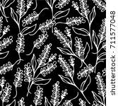 lavender illustration....   Shutterstock . vector #711577048