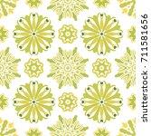 seamless tiling  vector texture ... | Shutterstock .eps vector #711581656