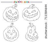 cartoon vector illustration of... | Shutterstock .eps vector #711584644